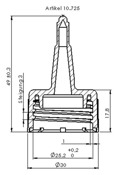 10-725-Zeichnung Spritzverschluss