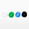 Schraubkappen für Pipetten in verschiedenen Farben