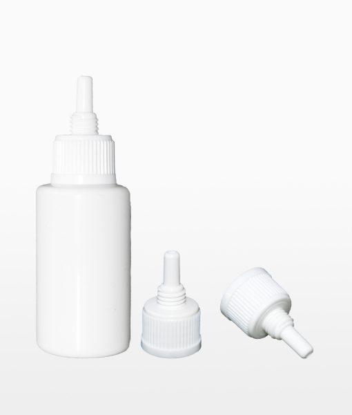 Barexflasche mit Kanülenverschluss