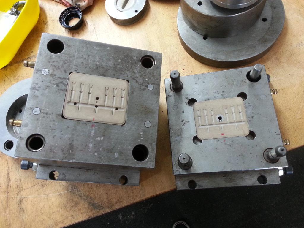 3D-gedruckter Werkzeugeinsatz im Werkzeug