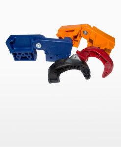 Kunststoffteile für den Gerüst- und Leiterbau