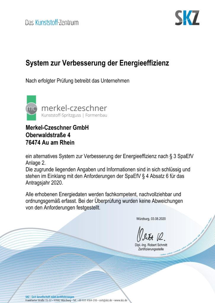 System zur Verbesserung der Energieeffizienz