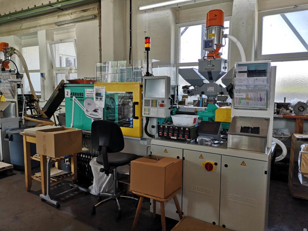 neue Spritzgussmaschine von Arburg